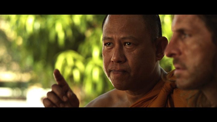 Vithaya Pansringarm as the monk