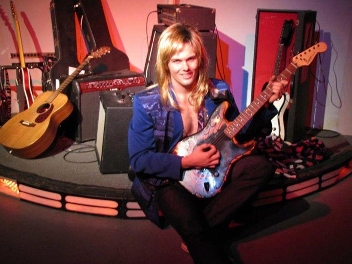 Johnny in Starbase Studios