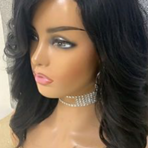 Custom Closure Wig 12in Human Hair