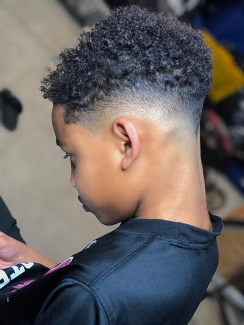 Kids Curly Undercut