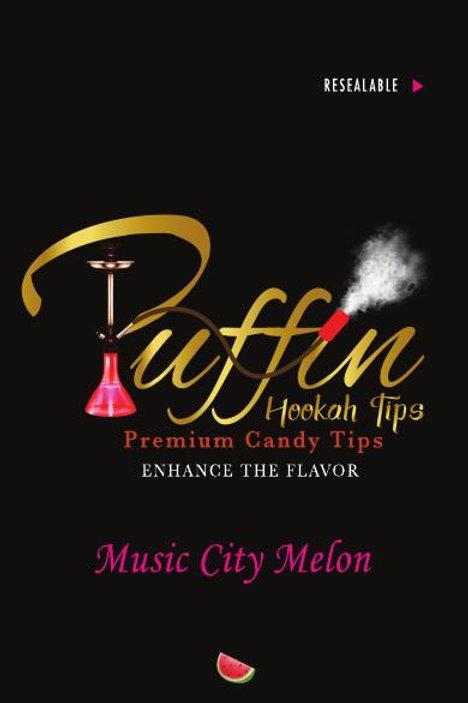PUFFIN HOOKAH TIPS - MUSIC CITY MELON
