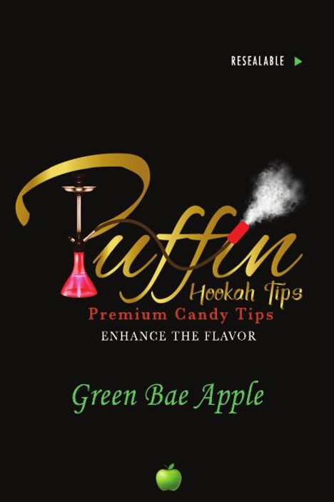 PUFFIN HOOKAH TIPS - GREEN APPLE BAE