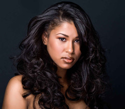 virgin_indian_natural_wave_hair_model