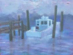 Boat in Fog