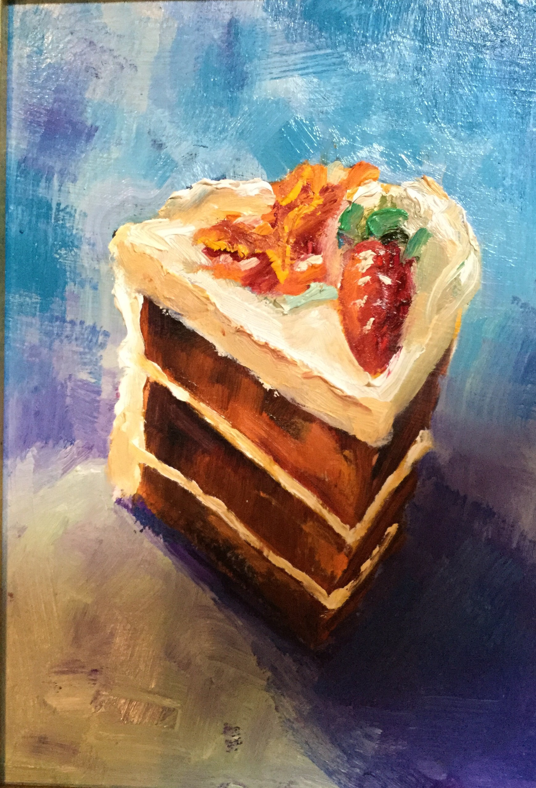 Carrot Cake 3 layers 5x7