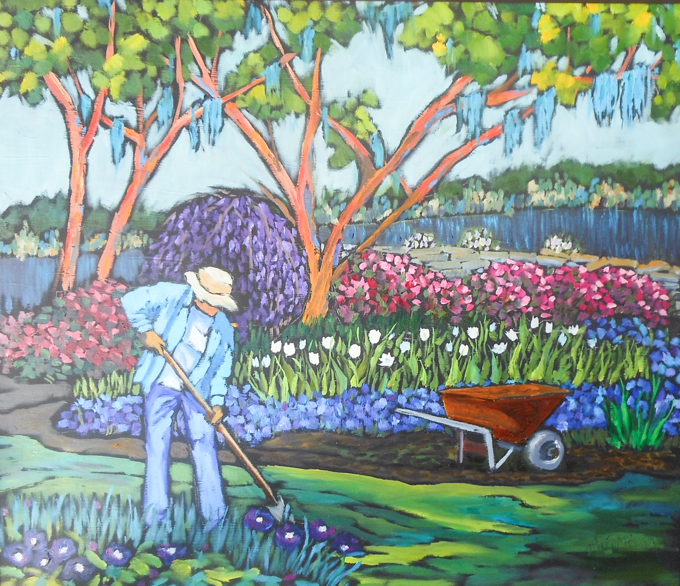 The Gardener at Work