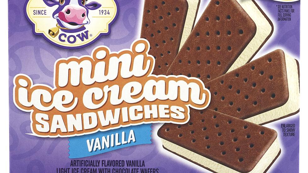 MINI Vanilla Mini Ice Cream Sandwiches