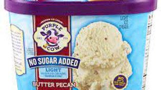 Large No Sugar Added Butter Pecan