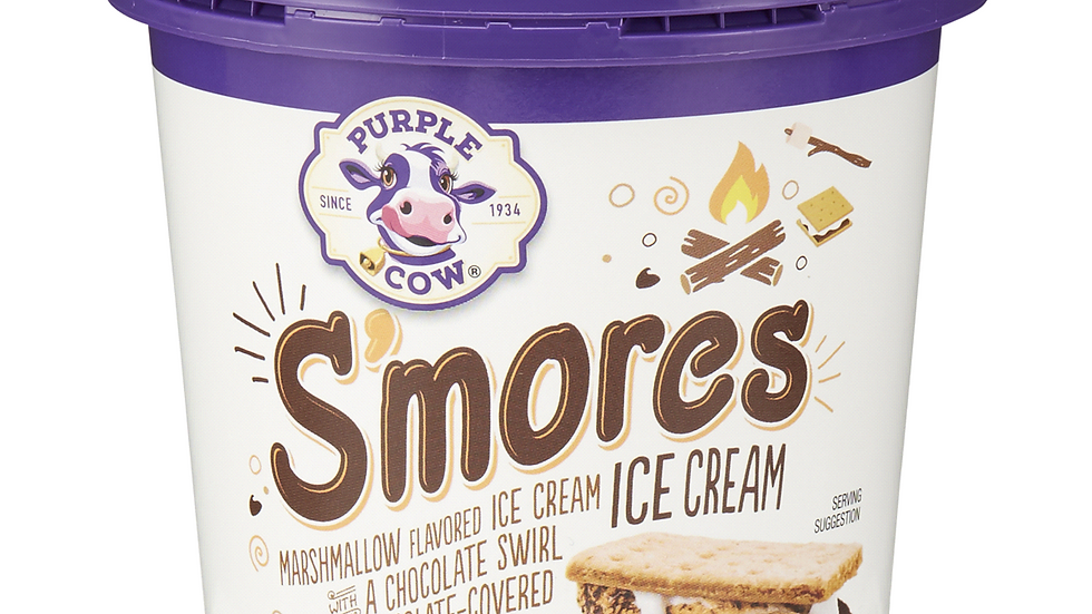 Pint of Smores Ice Cream