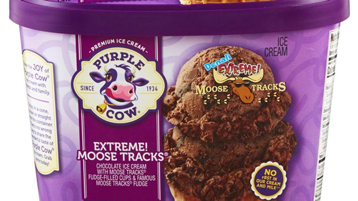 Large Extreme! Chocolate Moose Tracks