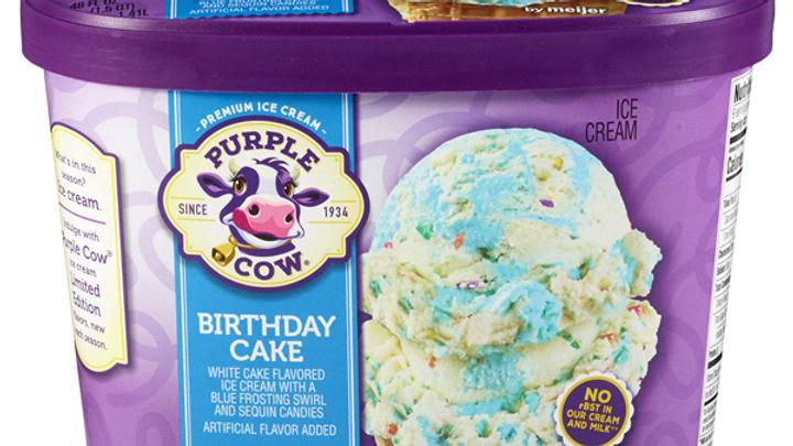 Large Birthday Cake