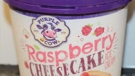 Pint of Raspberry Cheesecake Ice Cream