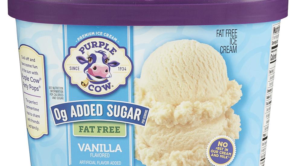 Large No Sugar Added Fat Free Vanilla