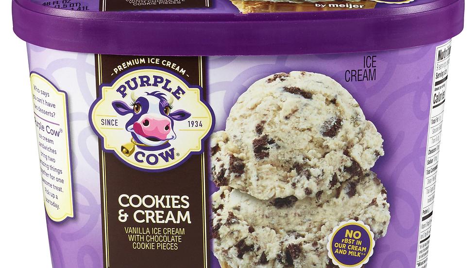 Large Cookies & Cream