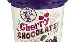 Pint of Cherry Chocolate Ice Cream