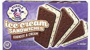 Cookies & Cream Ice Cream Sandwiches