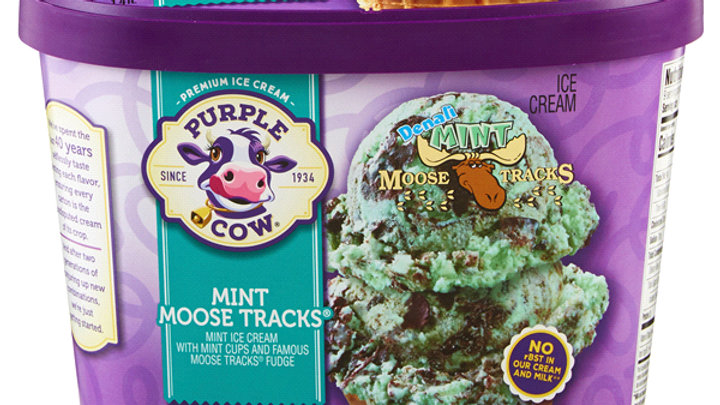 Large Mint Moose Tracks
