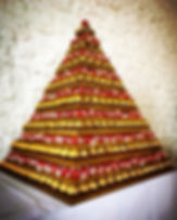 16-tier Ferrero & Lindt Pyramid
