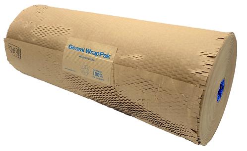 Перфорированная крафт-бумага Geami® WrapPak®, бурая