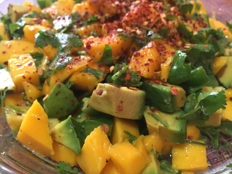 Receta de ceviche de mango, picante