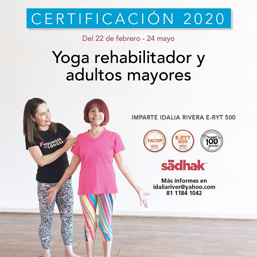 Certificación YOUNGER FOR LONGER YOGA ®