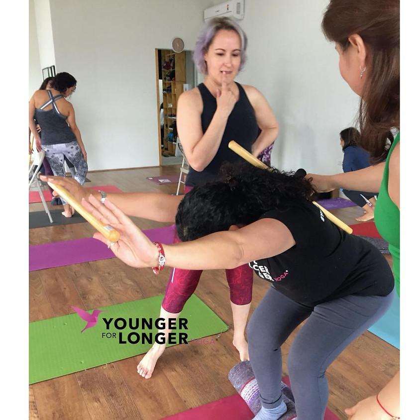 """Certificación Younger for Longer Yoga®  """"Presencial"""""""