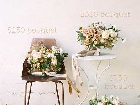 How Much Is A Wedding Bouquet?