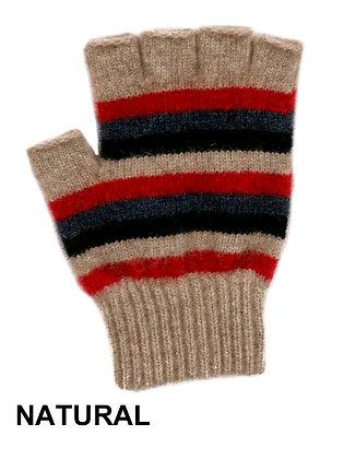 Multi Stripe Fingerless Glove (9965)