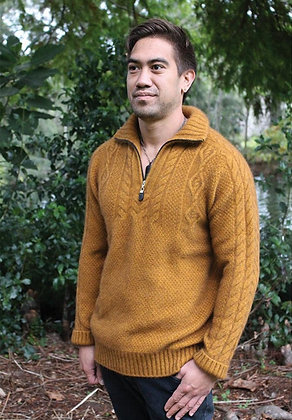 Men's Waipoua Cable Sweater (9816)