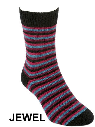 Multi Stripe Sock (9953)