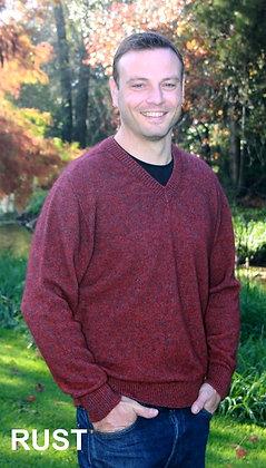 Men's Vee Neck Sweater (9830)
