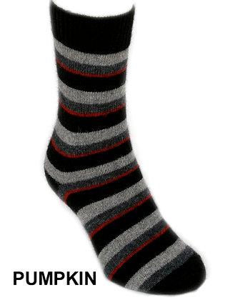 Accent Stripe Sock (9895)
