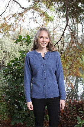 Ladies Plain Jacket with Buttons (9937)