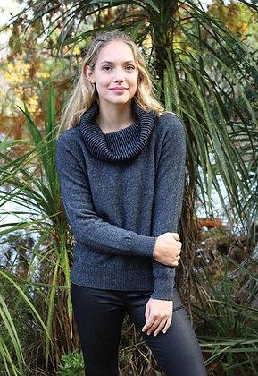 Cowl Neck Sweater (9977)