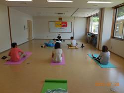 2015-07-20 ヨガ教室 001