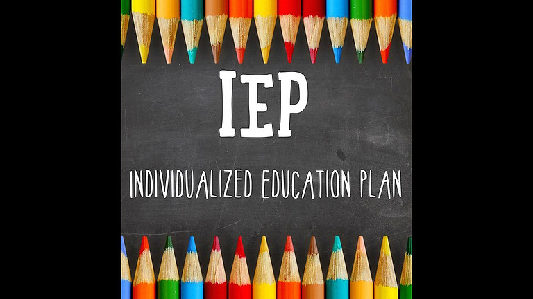 Demystifying the IEP Process