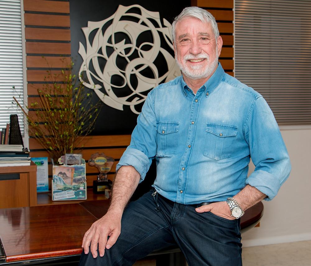 Adonai Aires de Arruda é diretor presidente da Serra Verde Express