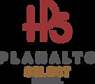 Logo Planalto Select 3 cores fundo branc