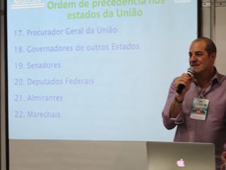 Práticas de cerimonial e protocolo é tema de palestra no Bureau de Negócios