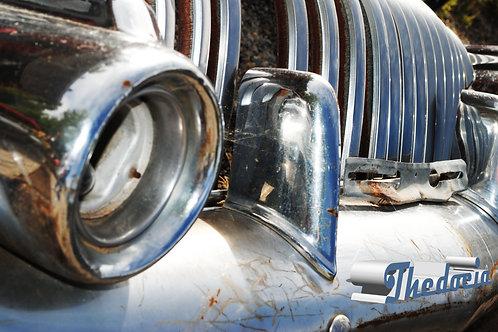 classic car sticker