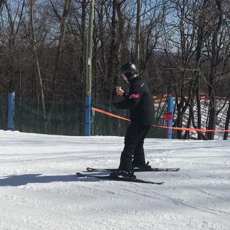Impressive Skiing Technique