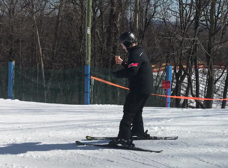 Impressive Skiing Technique