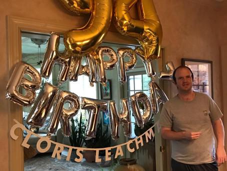 Andrew Celebrates