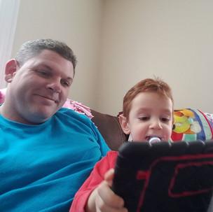 Aidan and Dad
