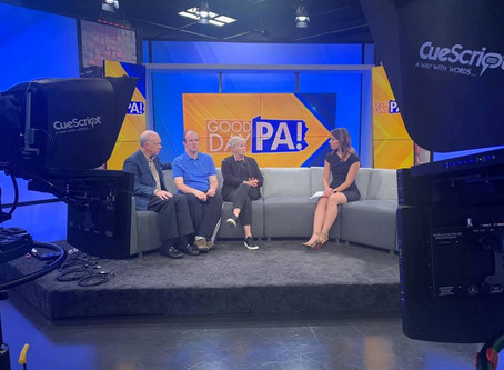 Andrew, Andy and Dorothy on Good Day PA