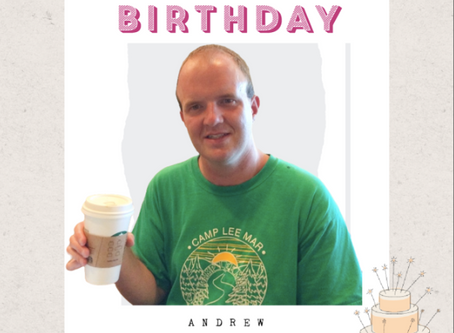 HAPPY 33rd BIRTHDAY, ANDREW!