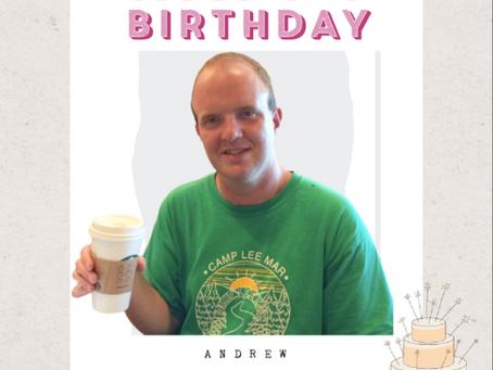 HAPPY 33rd BIRTHDAY, ANDREW!