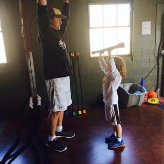 Matt and Trainer Chris