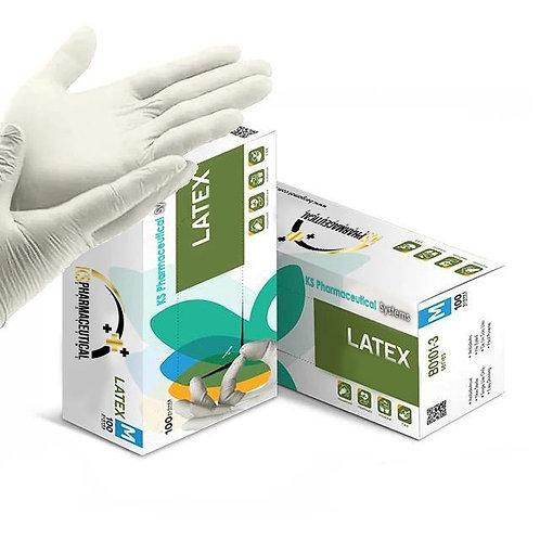 Latex Gloves box of 100