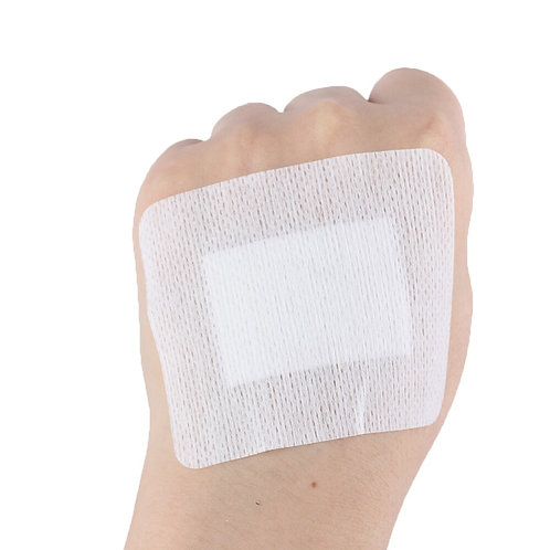 10pcs Disposable Medical Non-Woven Bandage Band 6cm*7cm for Wound Dressing